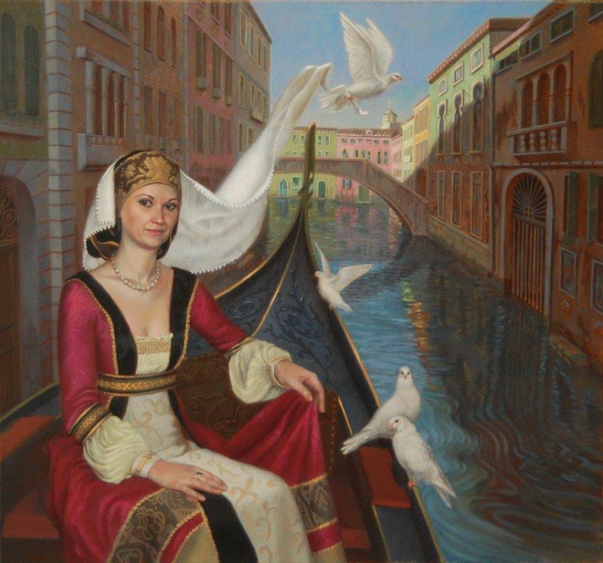 Венеция. х/м. 75х60. 2013