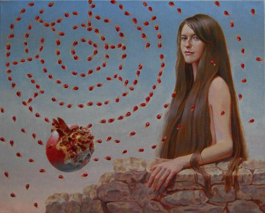 The maze.oil/cаnvas. 40х50.2011