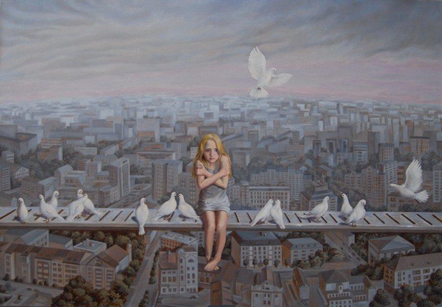 Loneliness. oil/cаnvas. 70х100.2011. FOR SALE