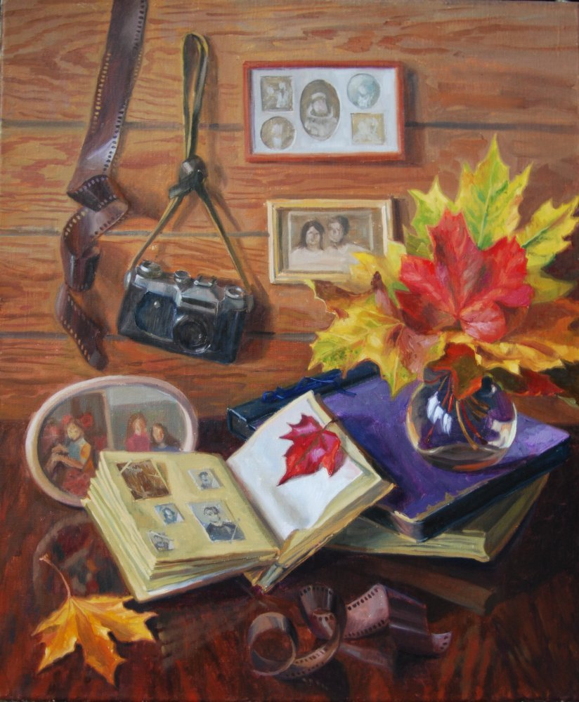 Autumn memories.oil/canvas.60x50. For sale