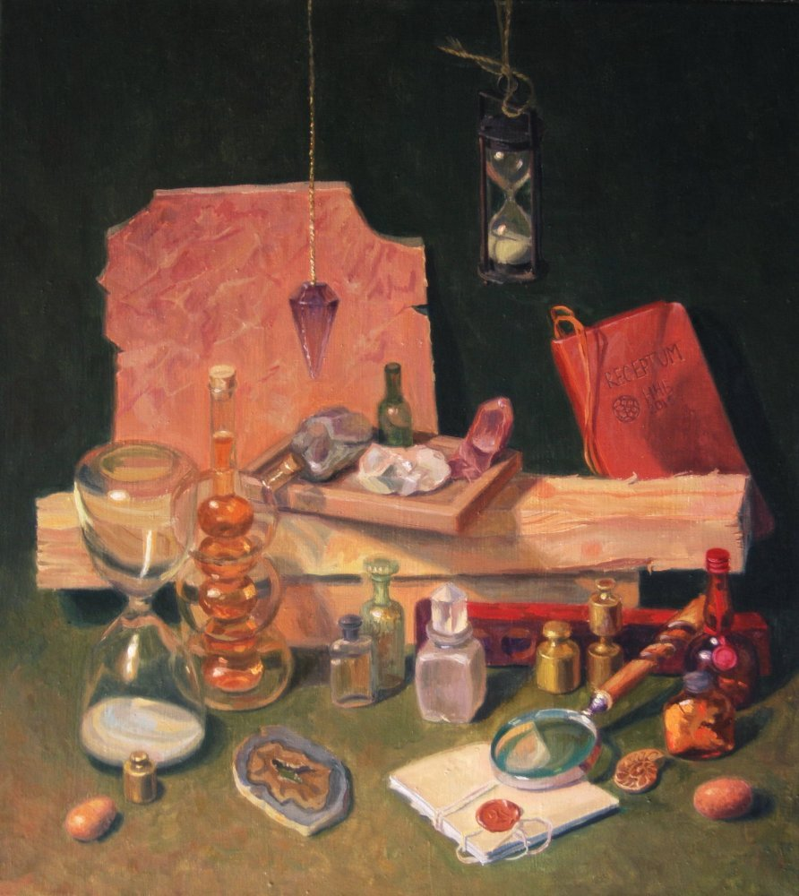 The recipe.oil/canvas.55x45.2015.For sale