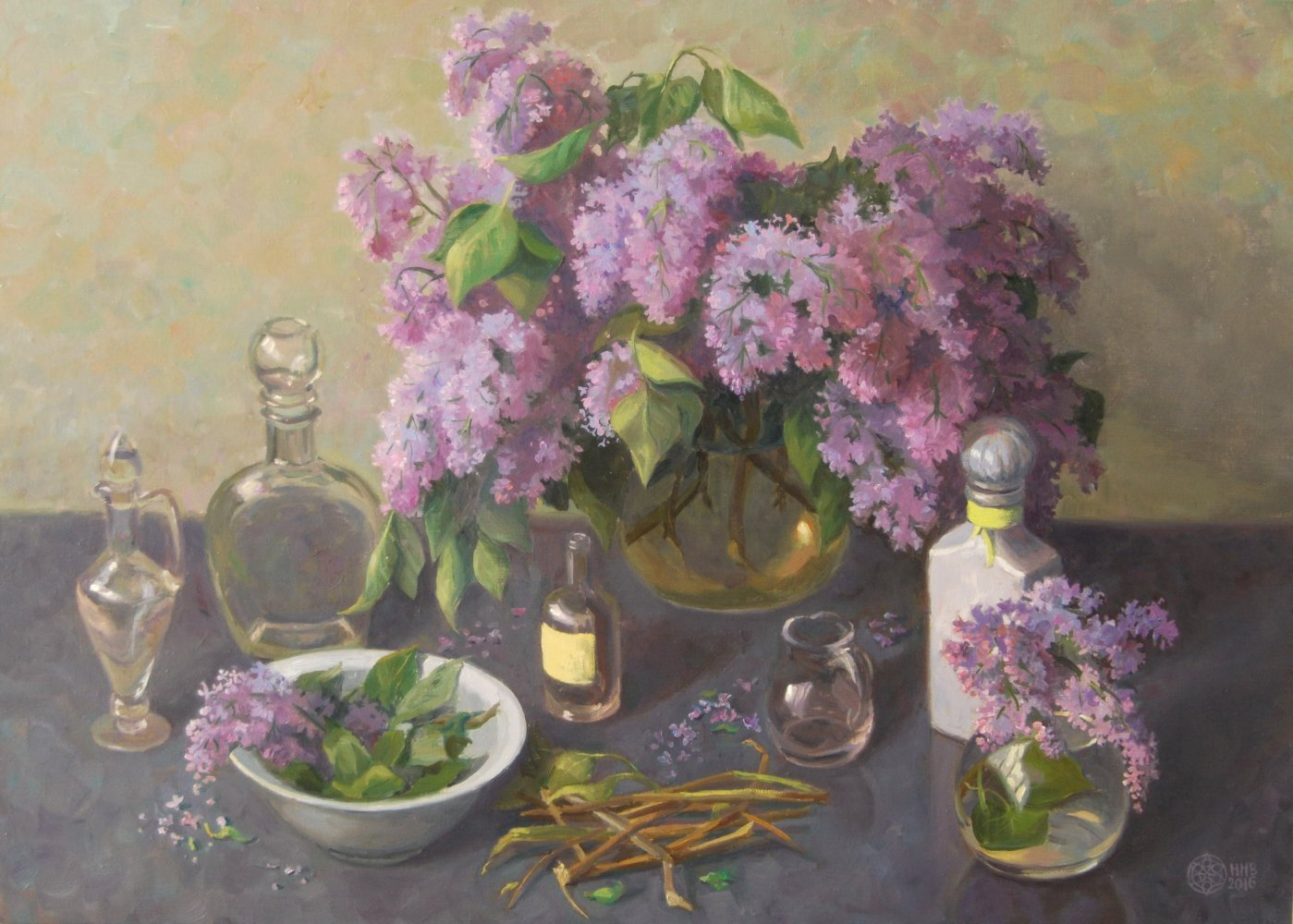 Lilac.50x70/oil/canvas.2016.for sale