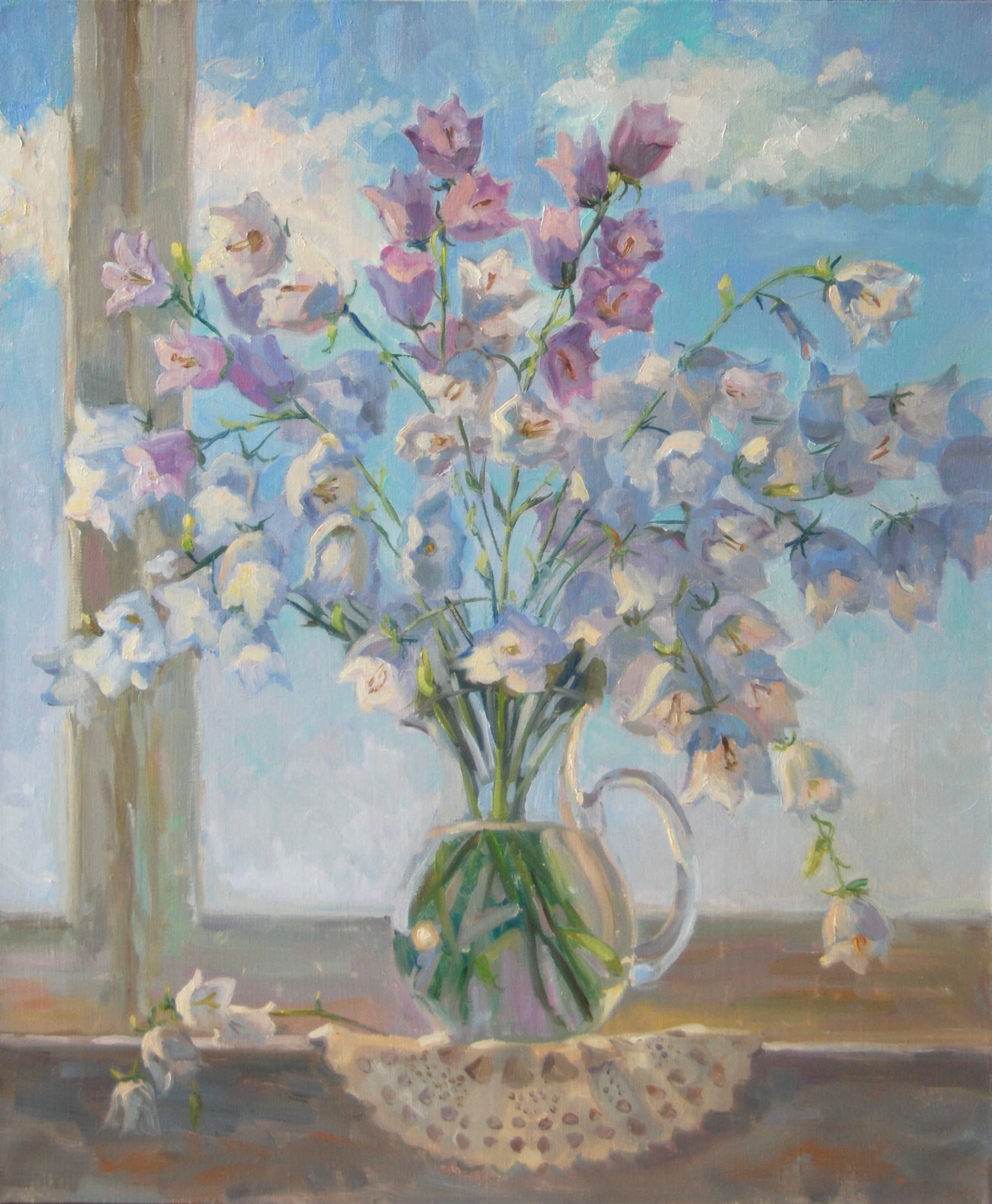 Bell-flowers.oil/canvas.60х50.2015