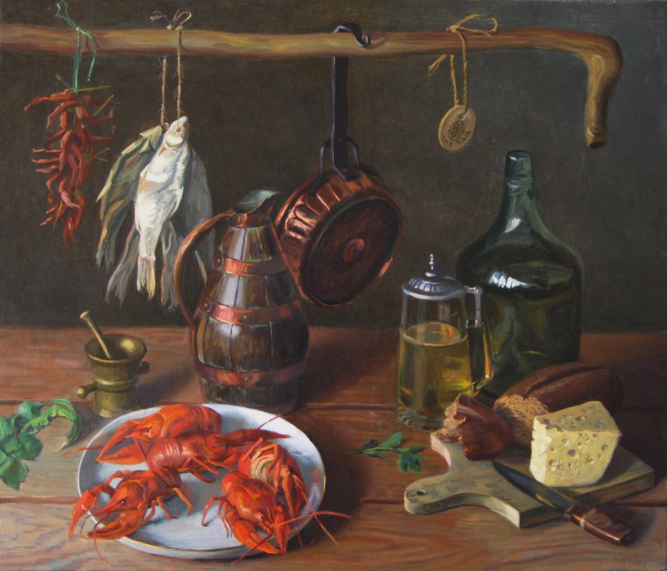 Crawfish.oil/canvas.60х70.2016. sold