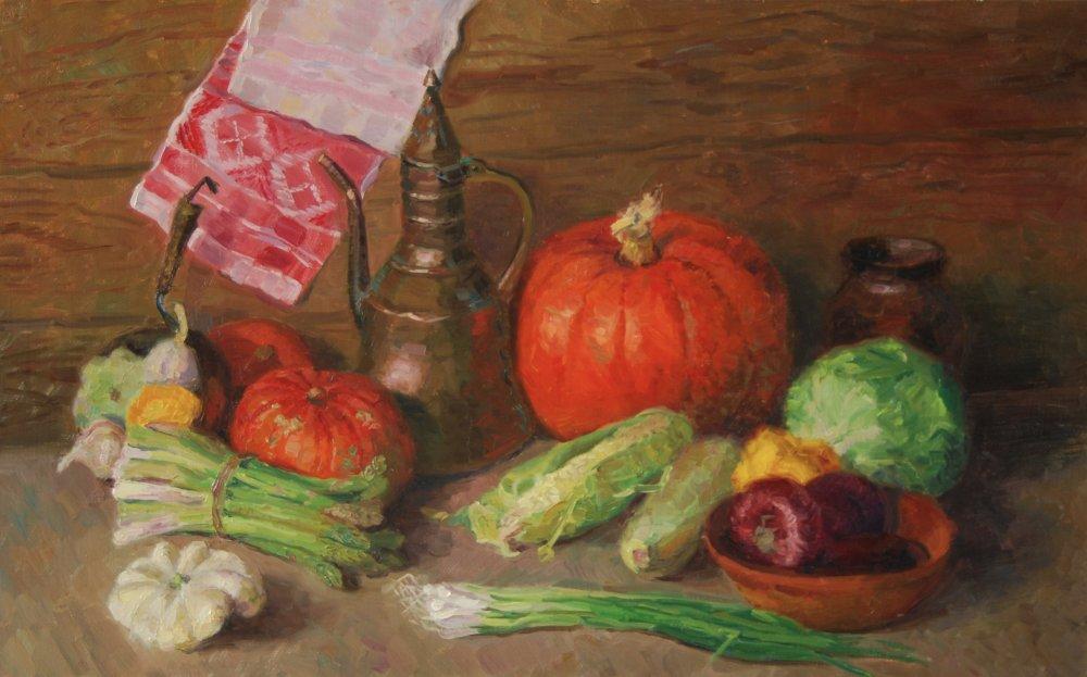 Pumpkins.50х80.oil/canvas.2014